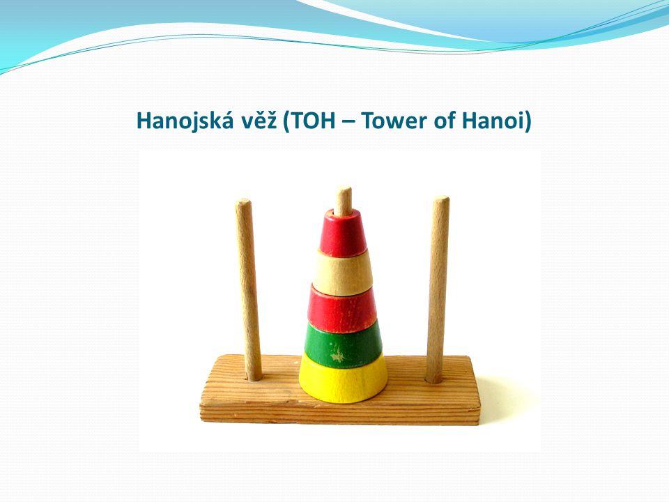Hanojská věž (TOH – Tower of Hanoi)