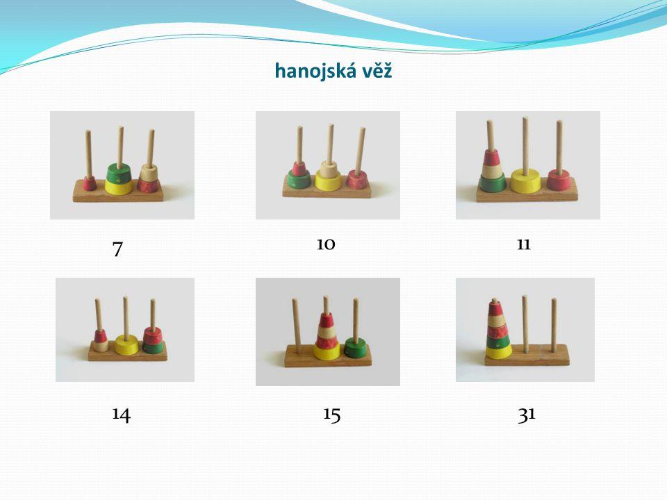 hanojská věž 7 1011 141531