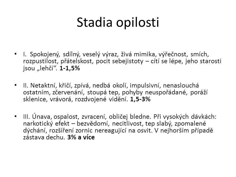 Stadia opilosti I.