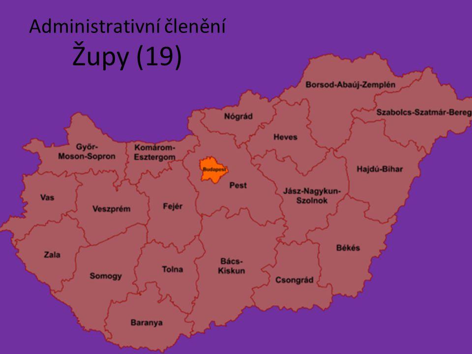 Administrativní členění Župy (19)