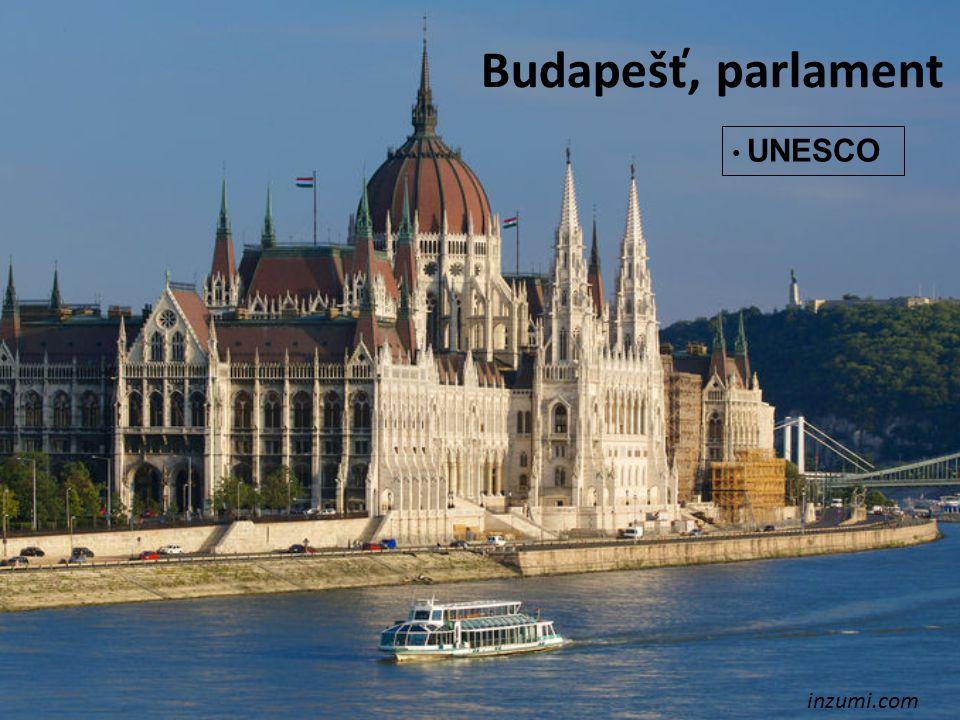 Budapešť, parlament inzumi.com UNESCO