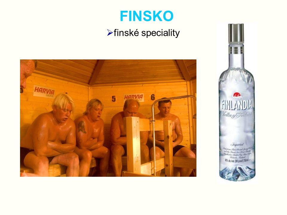 FINSKO  finské speciality
