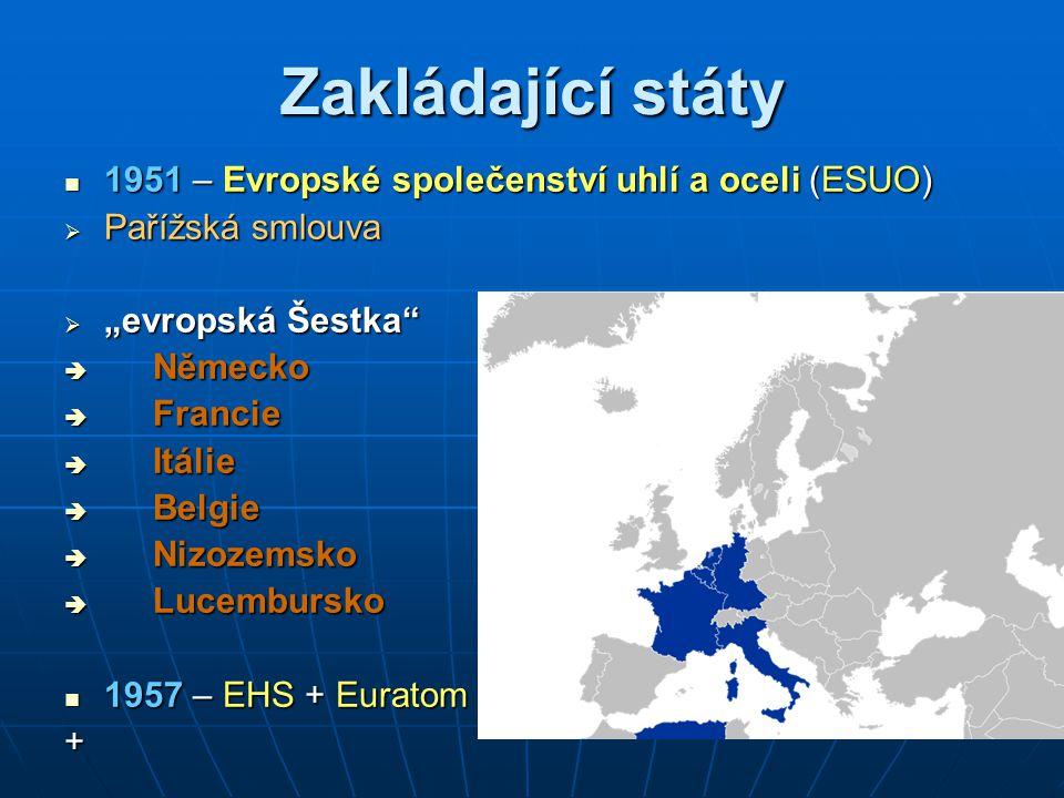 """První rozšíření Evropských společenství 1973 1973  """"evropská Devítka  Spojené království Velké Británie a Sever."""