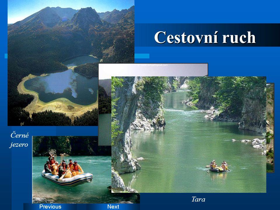 NextPrevious Cestovní ruch Černé jezero Drina Tara