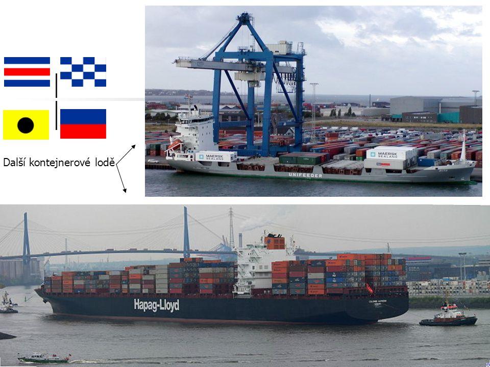 Další kontejnerové lodě