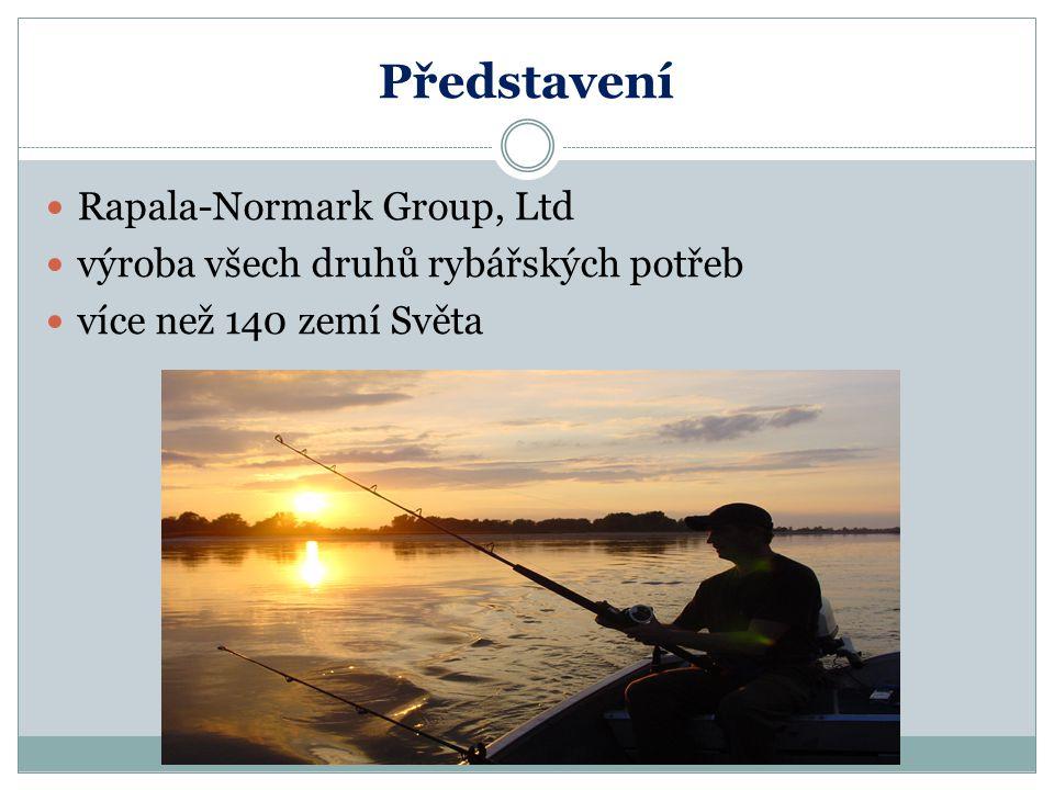 Představení Rapala-Normark Group, Ltd výroba všech druhů rybářských potřeb více než 140 zemí Světa