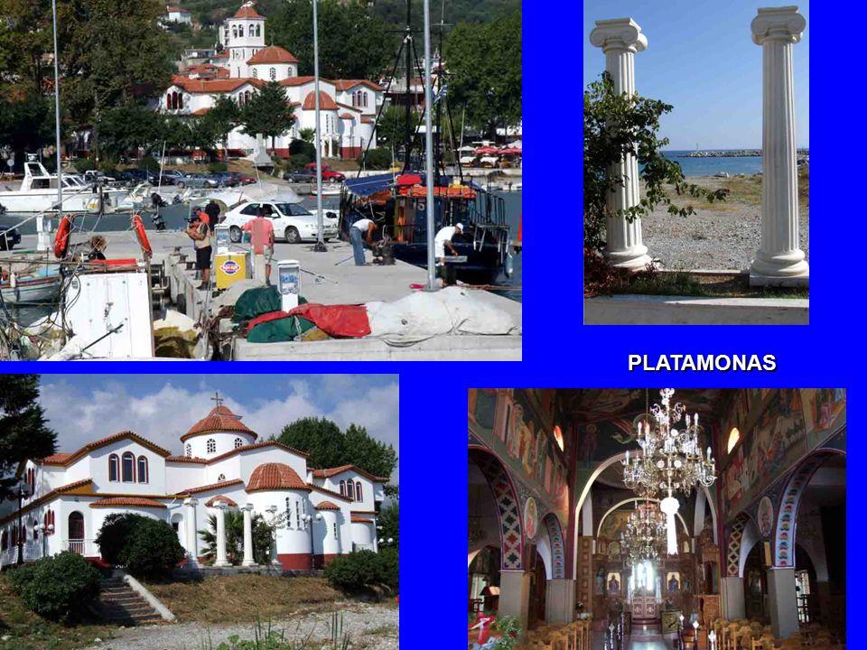 PLATAMONAS – původně rybářská vesnička… PLATAMONAS – původně rybářská vesnička…
