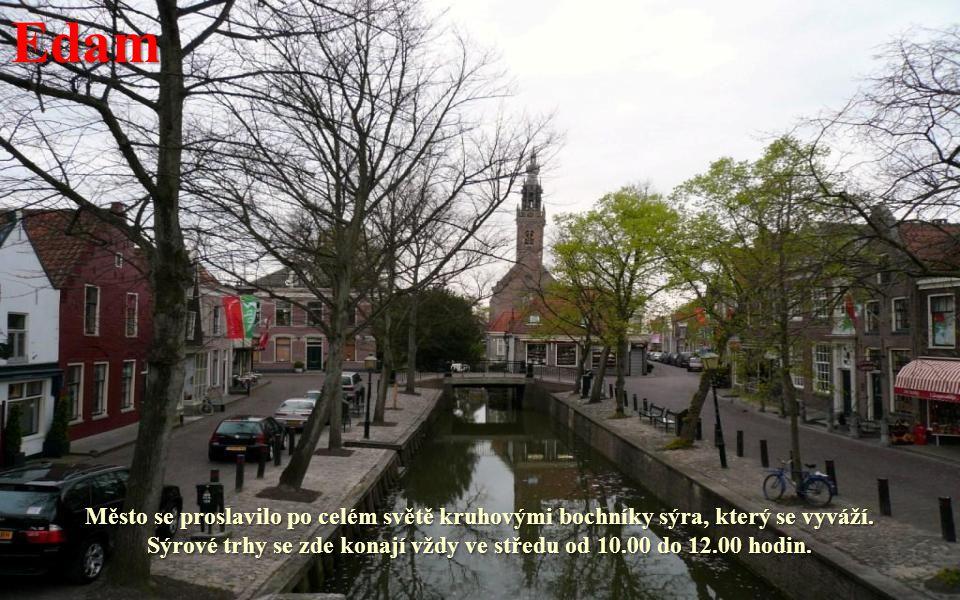 Afsluitdijk – hráz přes Zuiderzee