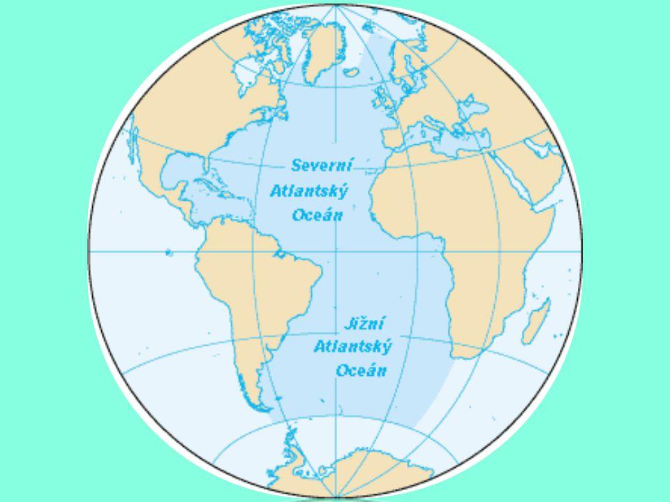 INDICKÝ OCEÁN Nejteplejší oceán