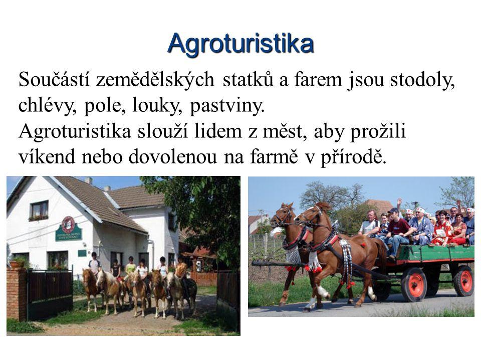Zaměstnání Jen menší část obyvatel se věnuje zemědělství.
