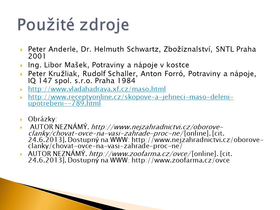  Peter Anderle, Dr.Helmuth Schwartz, Zbožíznalství, SNTL Praha 2001  Ing.