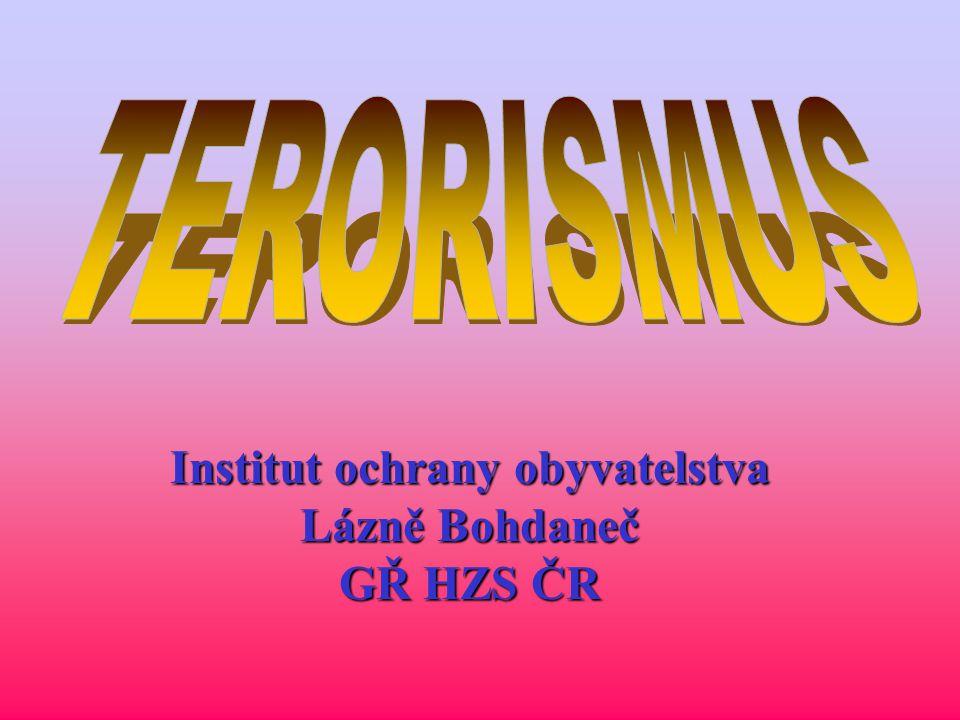 CO JE TERORISMUS.