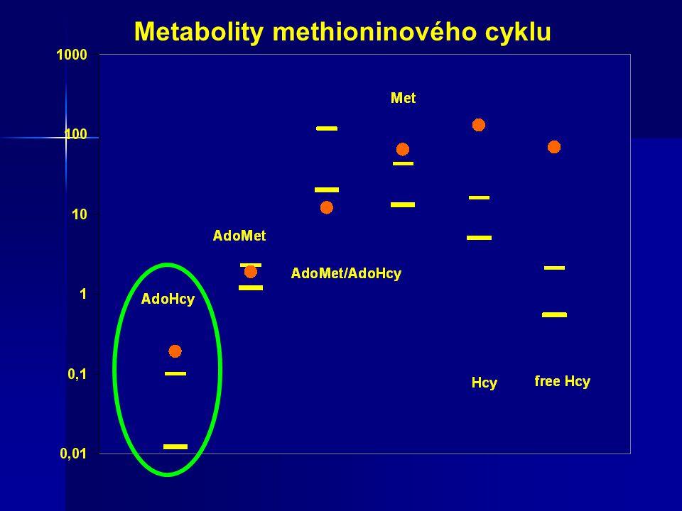 Metabolity methioninového cyklu