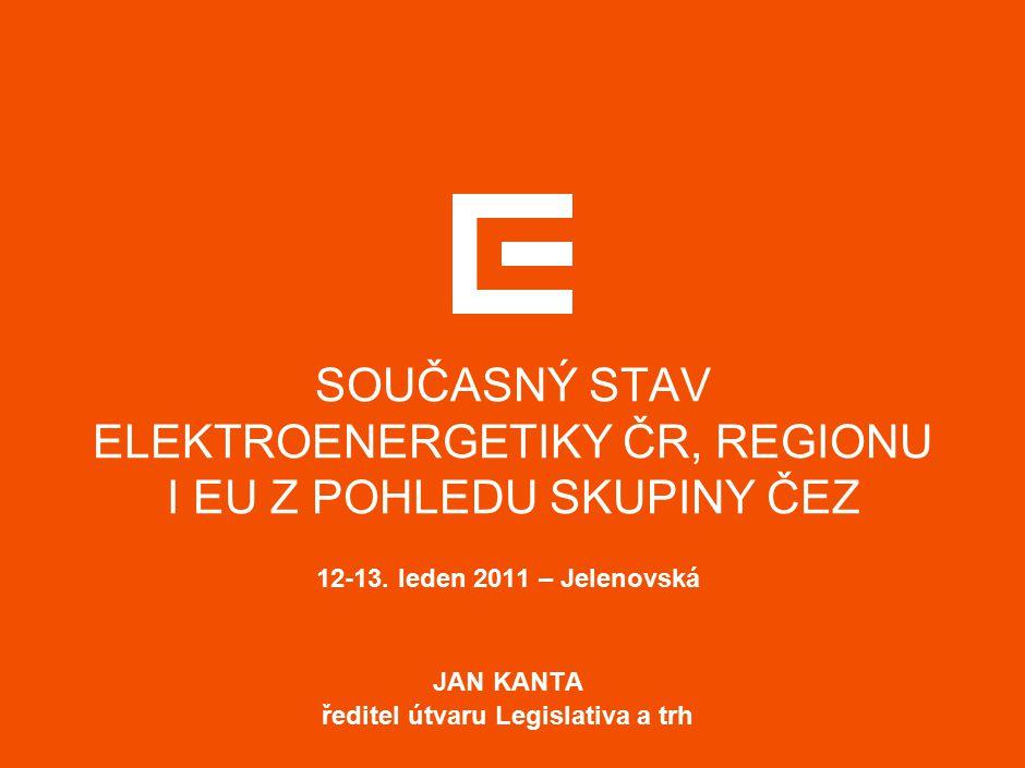 """11 CO JE KLÍČOVÉ V NÁSLEDUJÍCÍM OBDOBÍ PRO ROZVOJ ENERGETIKY  implementovat evropské směrnice a předpisy pouze v nezbytně nutném rozsahu a nezhoršovat pozici a konkurenceschopnost českého hospodářství a energetiky  preferovat další rozvoj a propojování velkoobchodních trhů s elektřinou, především propojování s rozvinutými a likvidními trhy  nastavení """"enviro podmínek pro energetiku (především CO 2 a emise), které jí umožní další rozvoj, který je nezbytný pro zabezpečení rozvoje průmyslu a energetické bezpečnosti  nastavit podporu OZE pro následující období tak, aby nás to stálo pouze nezbytně nutné náklady, zbytečně jsme nedeformovali trh s elektřinou a energetický systém bylo možno bezpečně provozovat"""