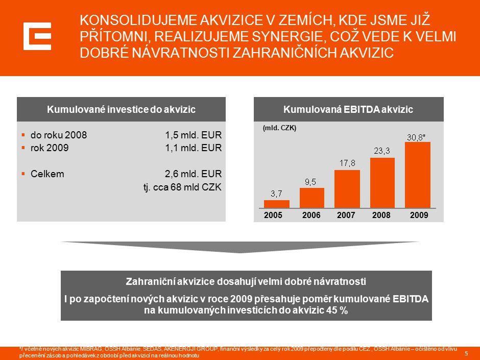 6 VČAS JSME UPUSTILI OD AKVIZIC NA RIZIKOVÝCH TRZÍCH RUSKA, UKRAJINY A KOSOVA země podmíněného zájmu dceřiné společnosti energetická aktiva obchodní činnost