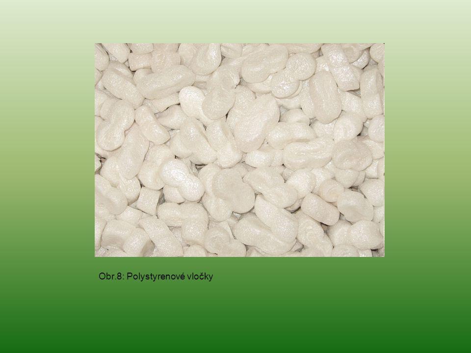 Obr.8: Polystyrenové vločky