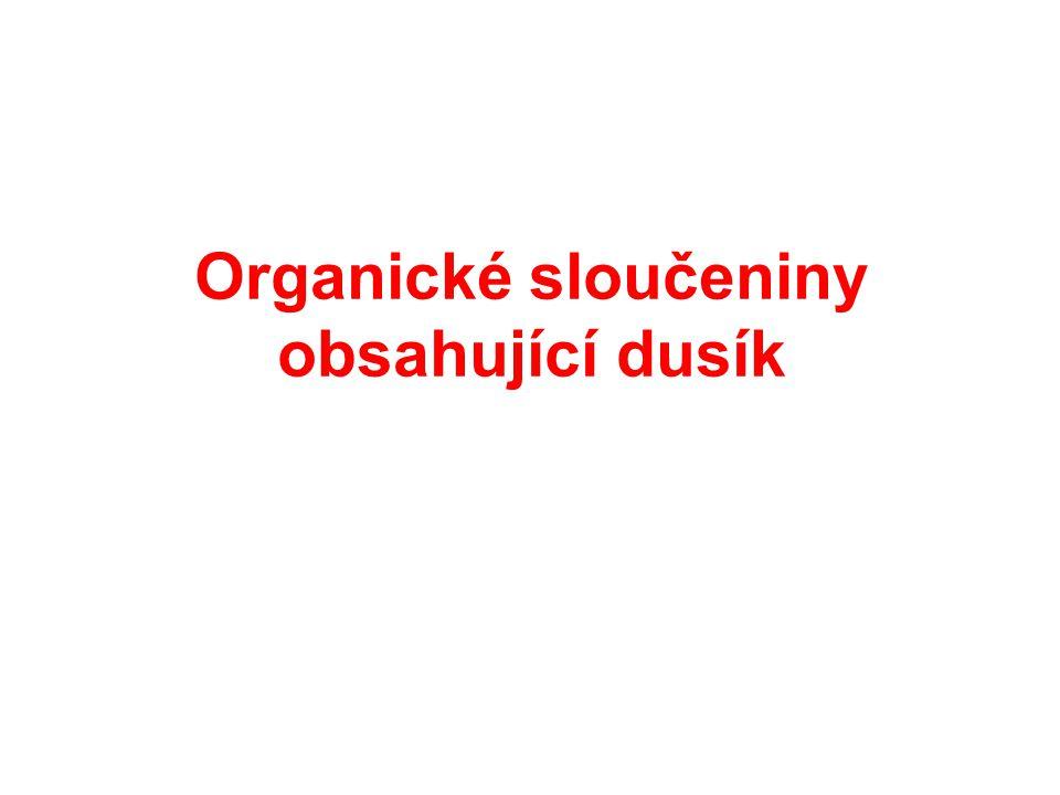 Organické sloučeniny obsahující dusík