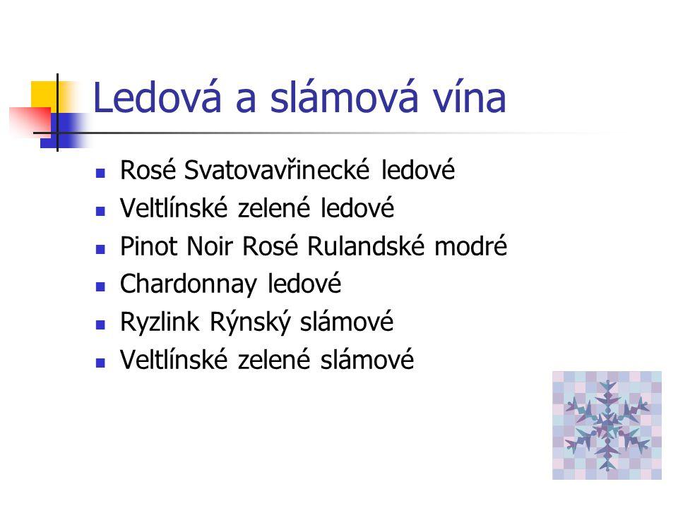 Šumivá vína Bohemia Sekt demi sec Bohemia Sekt rosé demi sec Bohemia Regia brut Hubert club Venuše Niké A.