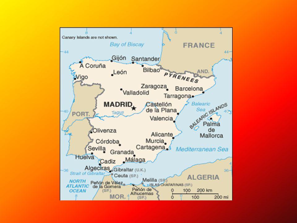 Obyvatelstvo Špan ě lsko je rozd ě leno do 17 autonomních oblastí nebo-li komunit (v č etn ě Kanárských ostrov ů a Baleár ů + 2 africká m ě sta Ceuta a Melilla, tzv.