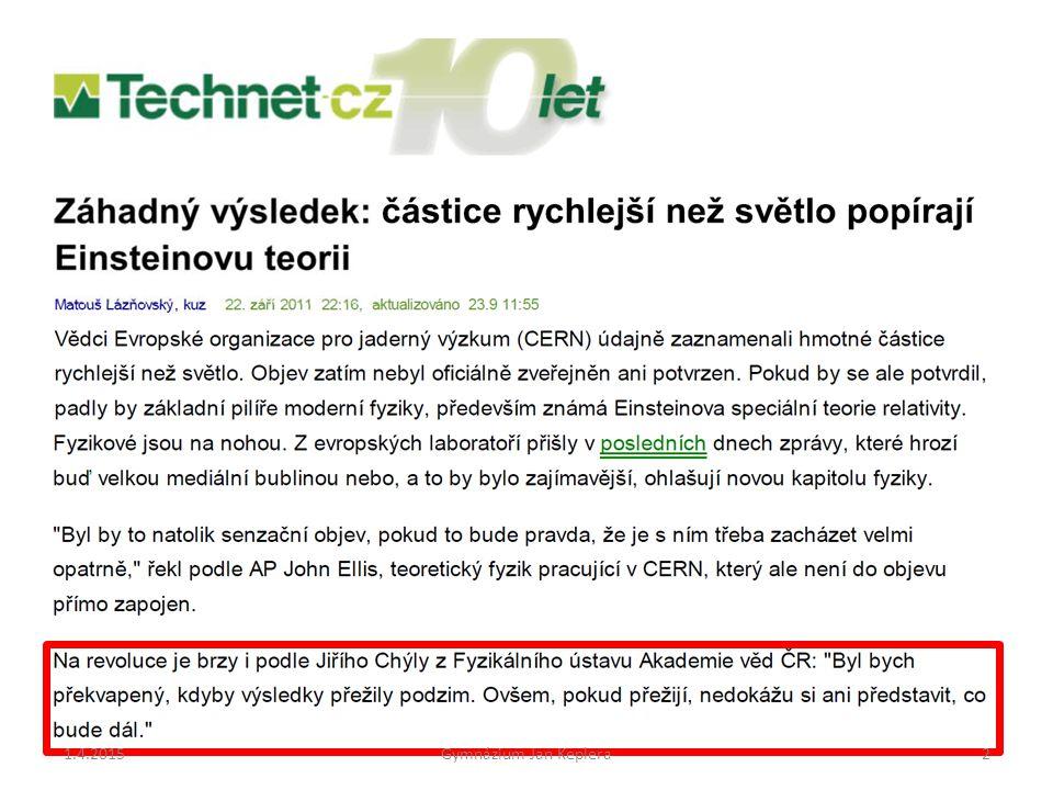 1.4.2015Gymnázium Jan Keplera73....