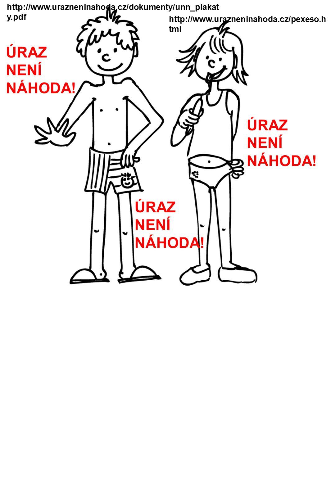 http://www.urazneninahoda.cz/dokumenty/unn_plakat y.pdf http://www.urazneninahoda.cz/pexeso.h tml ÚRAZ NENÍ NÁHODA.