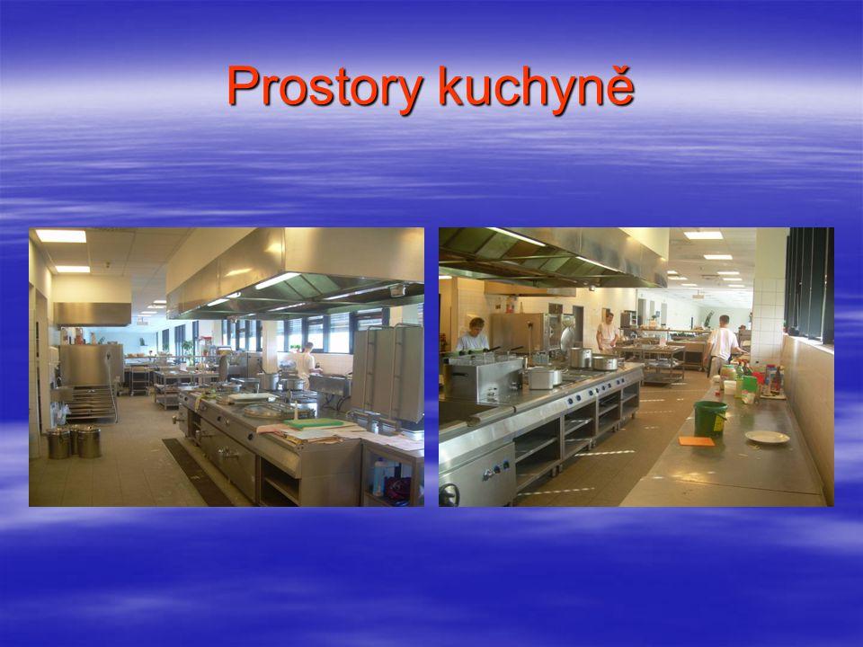 Prostory kuchyně