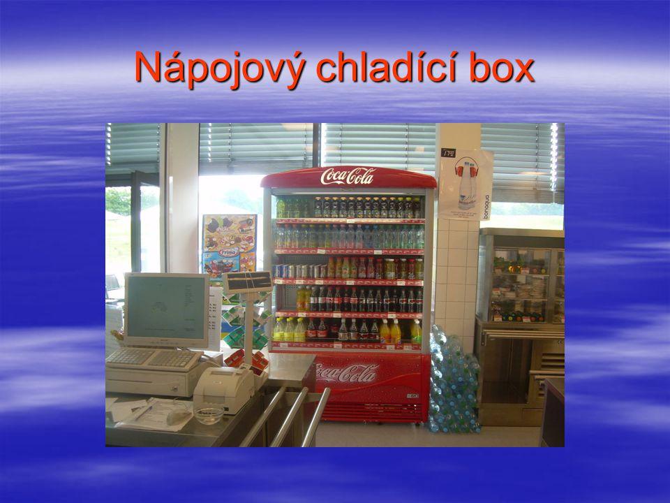 Chladící box na cukrovinky