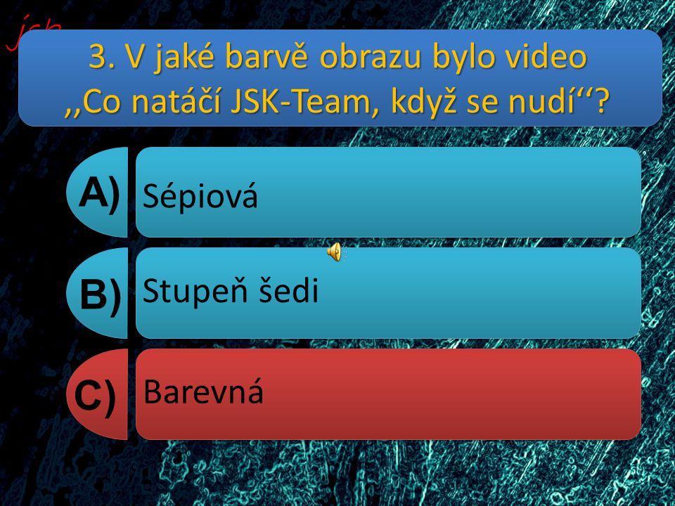 4. Co je napsáno ve vzkazech jako první ? A) B) C) Super Hezký, těším se na další DVD. Bombový