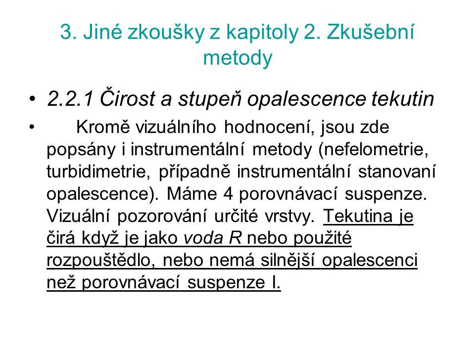 3.Jiné zkoušky z kapitoly 2.