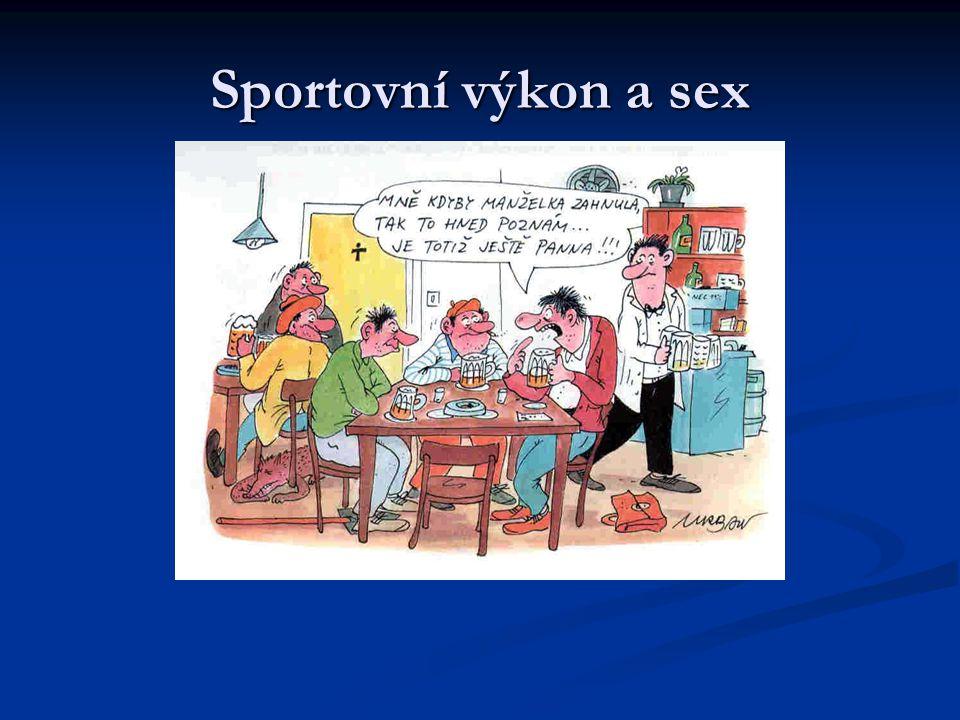 Sportovní výkon a sex