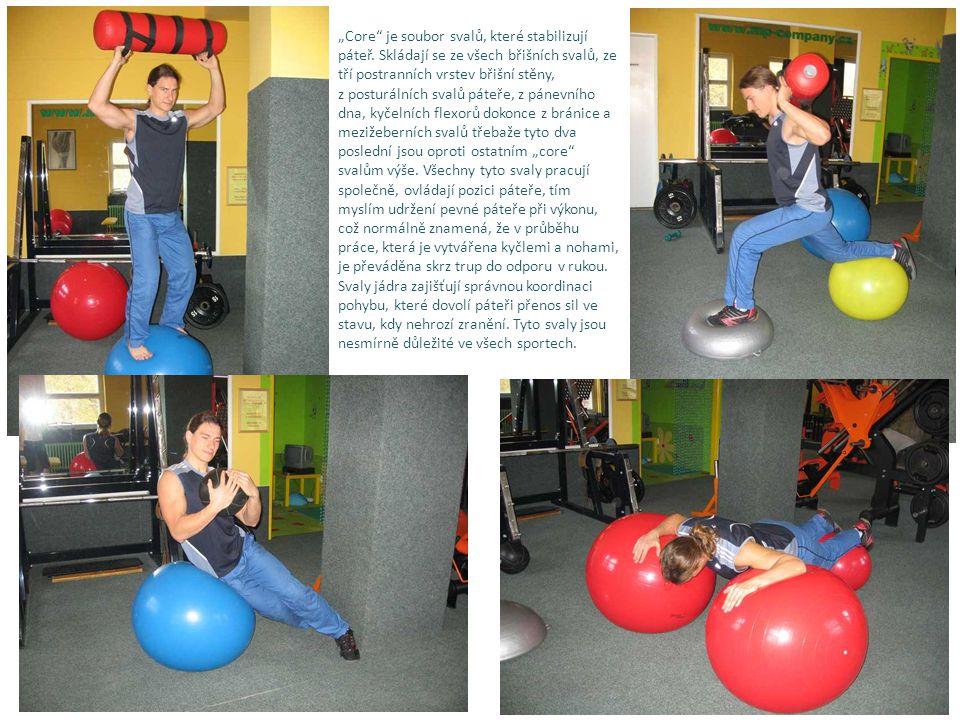 """""""Core je soubor svalů, které stabilizují páteř."""
