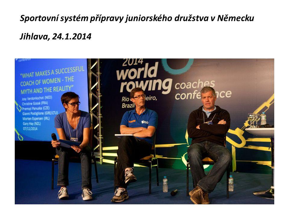 Sportovní systém přípravy juniorského družstva v Německu Jihlava, 24.1.2014