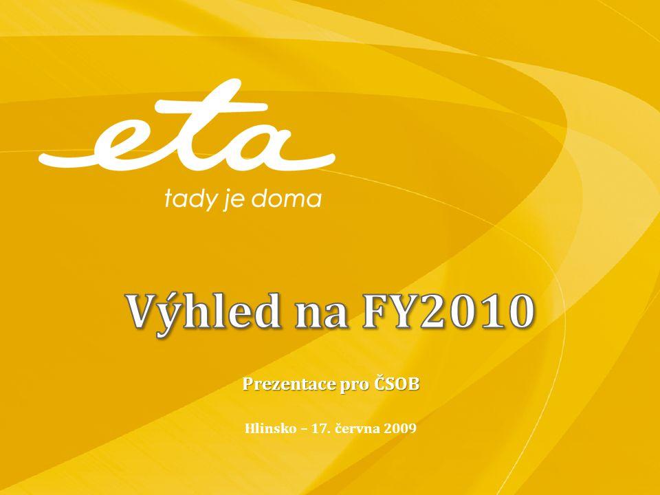 Prezentace pro ČSOB Hlinsko – 17. června 2009