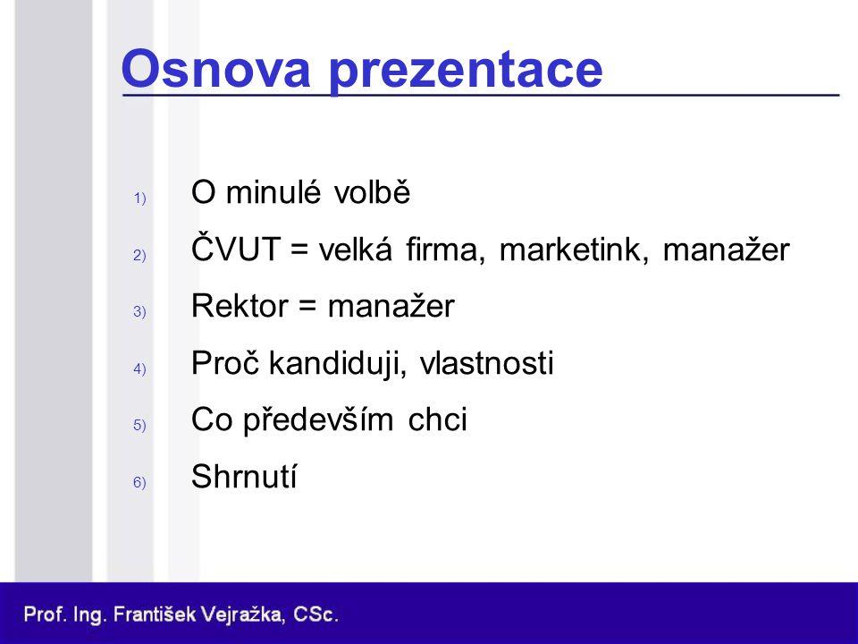 Prof.Ing. František Vejražka, CSc. 1.