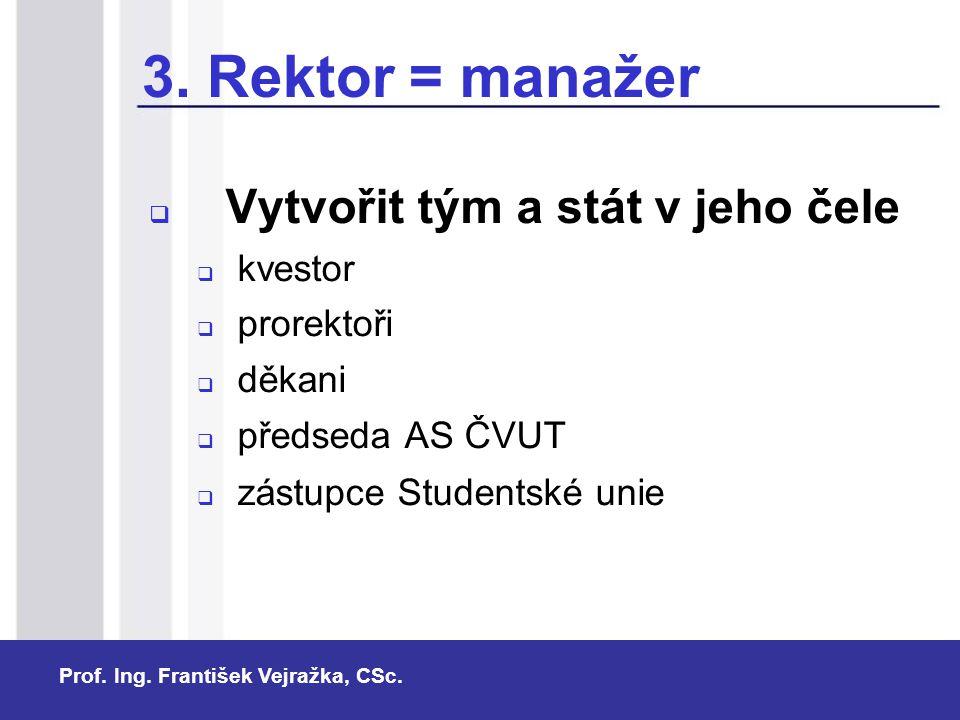 Prof.Ing. František Vejražka, CSc.