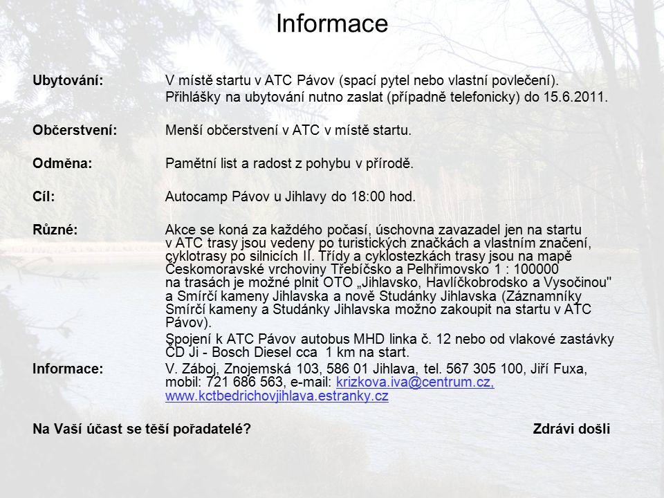 Informace XXX.
