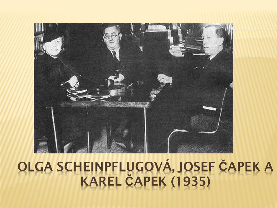 Čapek literární tvorbu zahájil před první světovou válkou, zpočátku tvořil se svým bratrem Josefem, který byl především malířem.