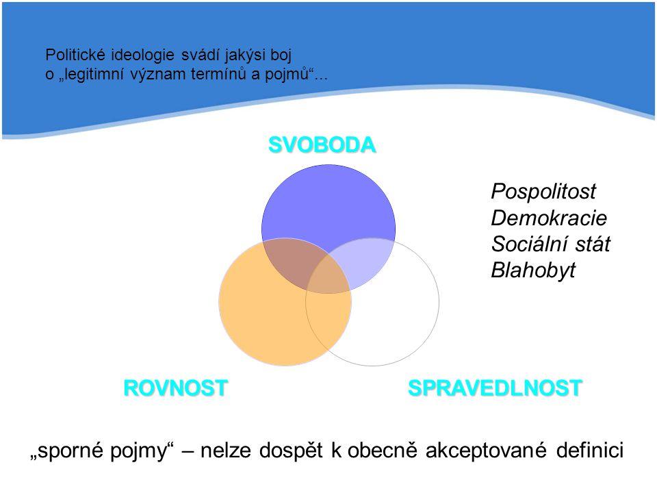Hodnoty socialismu   pospolitost (primát kolektivu před individuem)   bratrství (spolupráce x konkurenci)   sociální rovnost (materiálně vyjádřená)   důraz na potřeby (hedonický princip)   společenská třída (zdroj společenských rozporů)   společné vlastnictví (skepse vůči institutu soukromého vlastnictví)