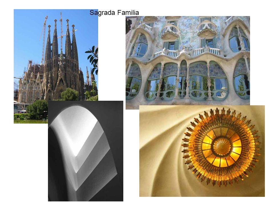 Sagrada Familia Technická mechanika 9.přednáška