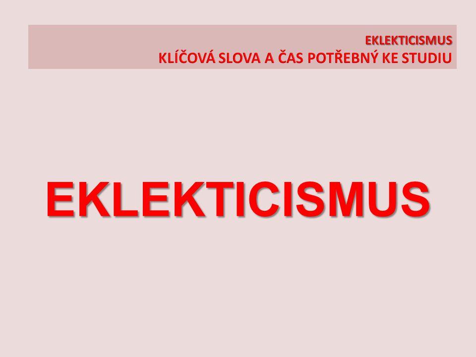 EKLEKTICISMUS