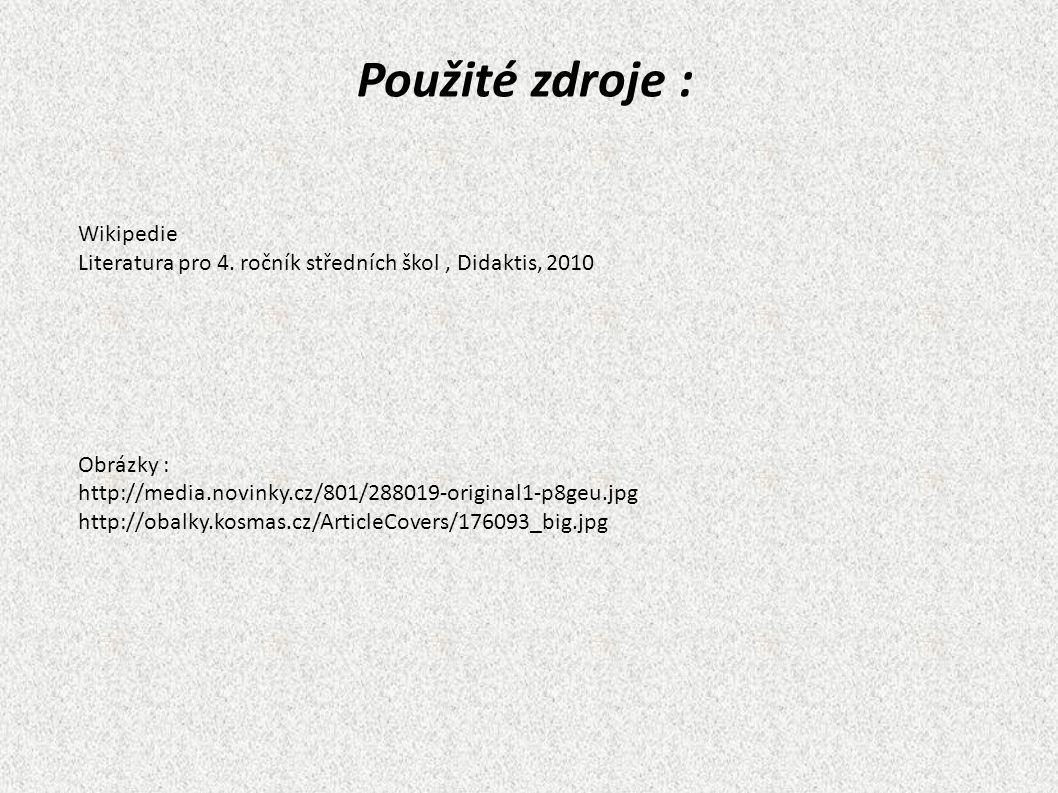 Wikipedie Literatura pro 4.