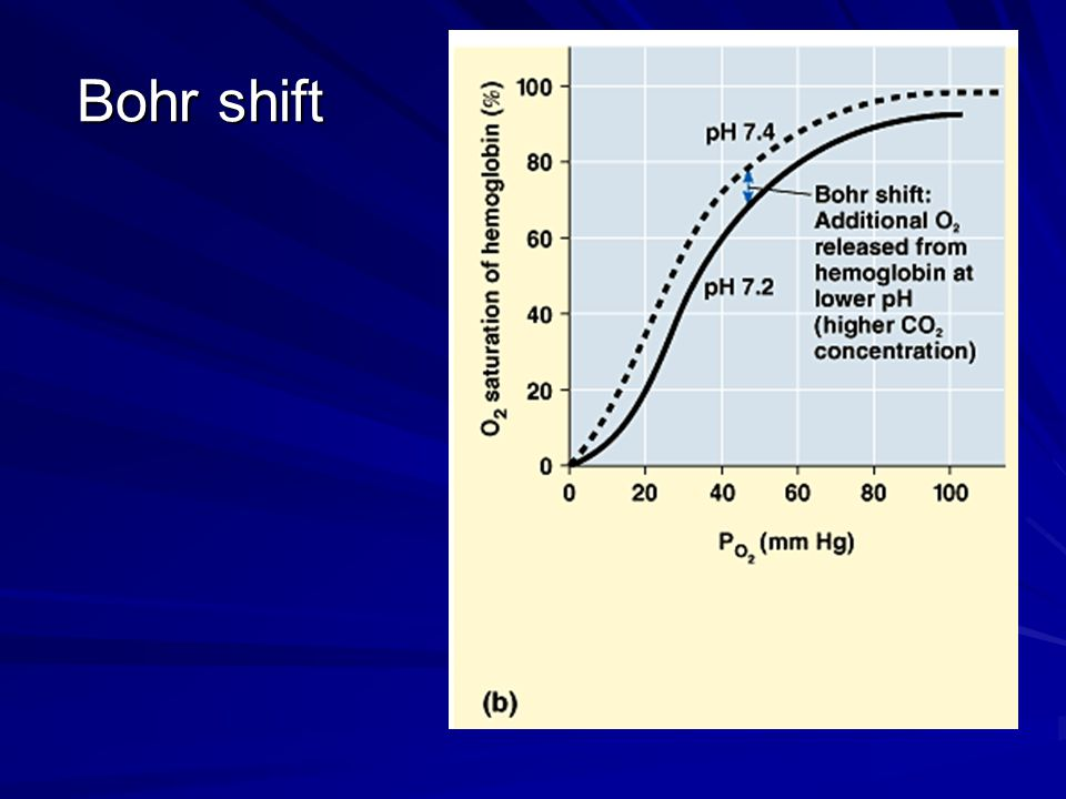 Bohr shift