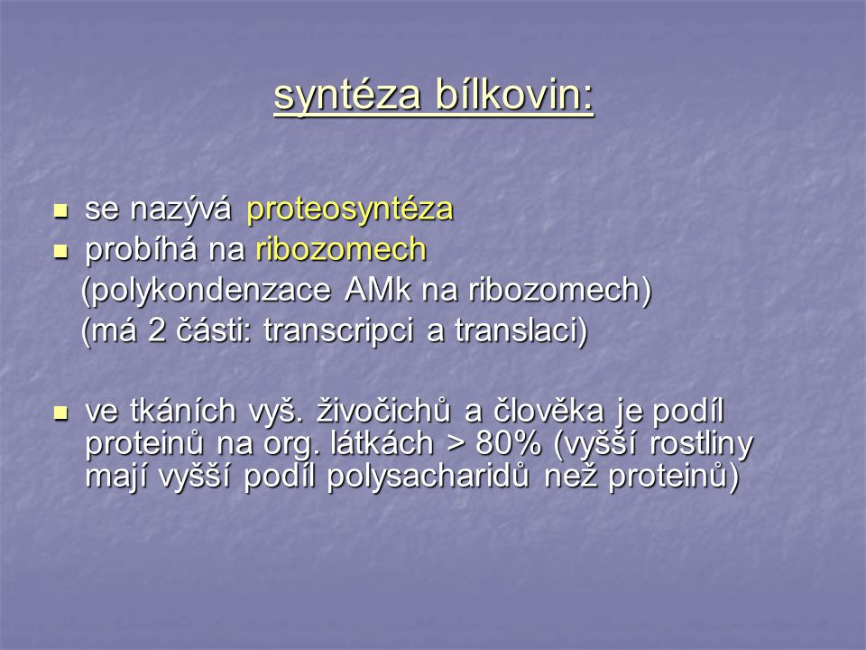 2.Složené bílkoviny - v pep.