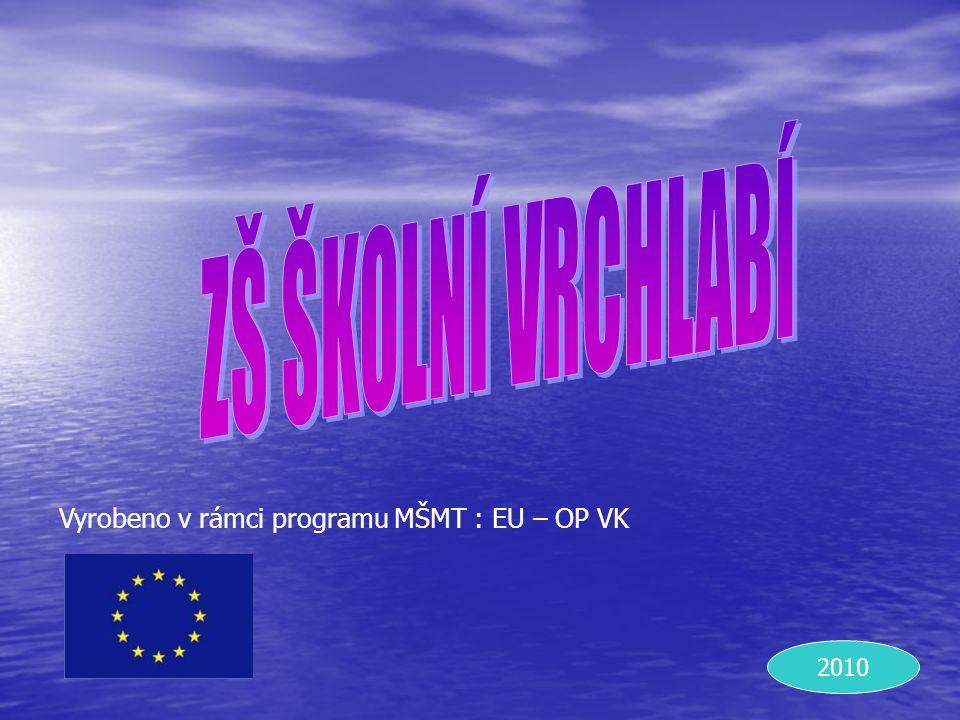 Stojaté, převážně sladkovodní, vodní plochy Určeno pouze pro výuku žáků ZŠ Školní Vrchlabí, nelze použít ke komerčním účelům ani k veřejné produkci.
