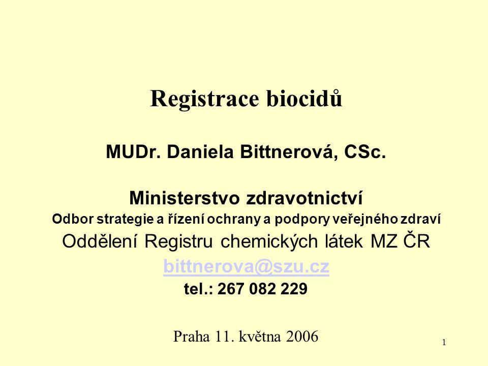 22 Požadavky na dokumentaci Zákon č.120/2002 Sb. Vyhláška č.