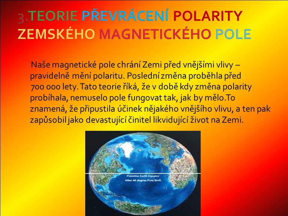 Naše magnetické pole chrání Zemi před vnějšími vlivy – pravidelně mění polaritu.