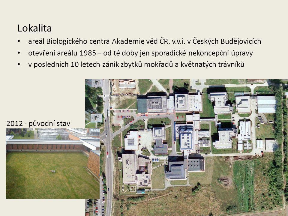 Lokalita areál Biologického centra Akademie věd ČR, v.v.i.