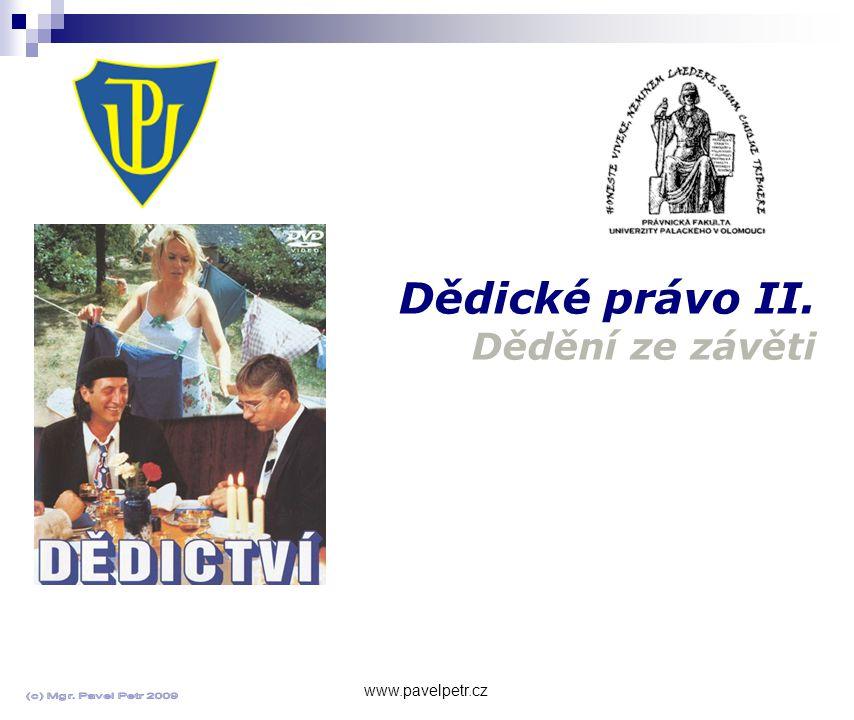 Úmrtní list www.pavelpetr.cz