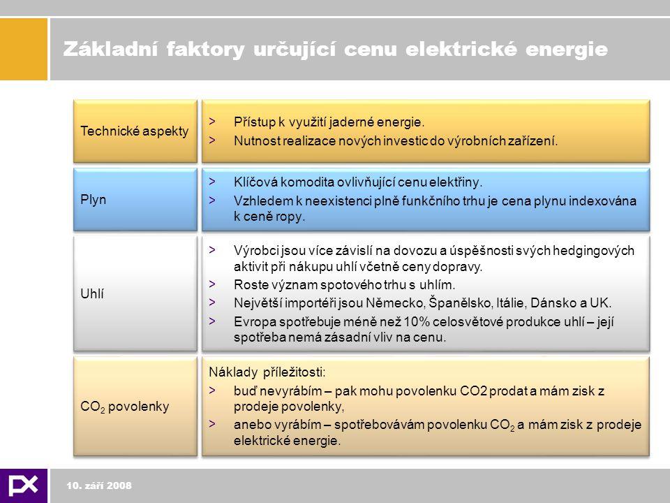 Základní faktory určující cenu elektrické energie > Přístup k využití jaderné energie.
