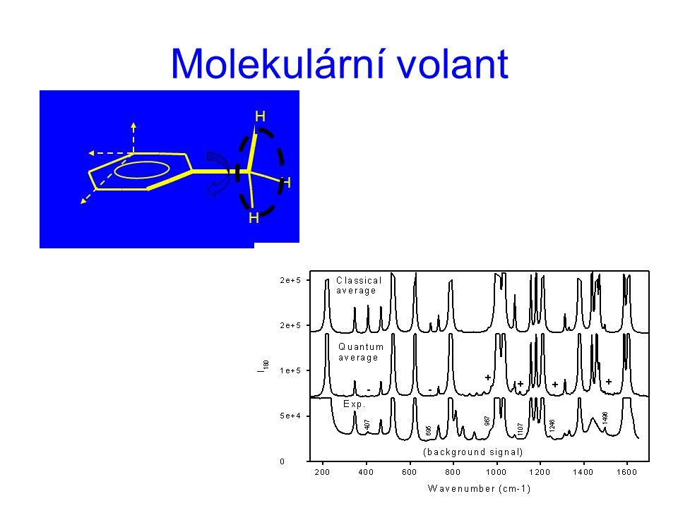 Molekulární volant H H H